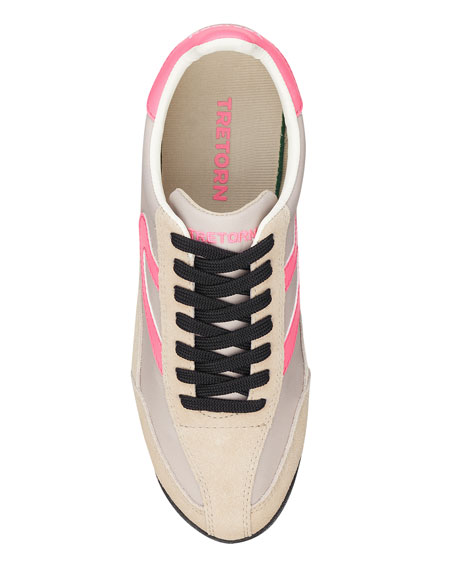 Tretorn Rawlins Suede Lace-Up Sneakers