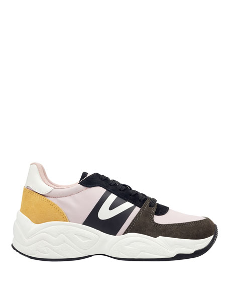 Tretorn Lexie Suede Lace-Up Sneakers