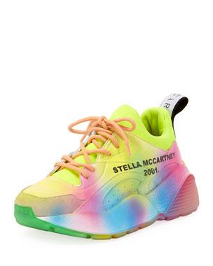 best service 46a2d 0d08f Stella McCartney Rainbow Eclypse Platform Sneakers