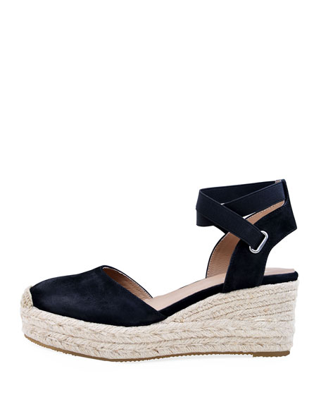 Bettye Muller Concept Reba Burnished Nubuck Espadrilles