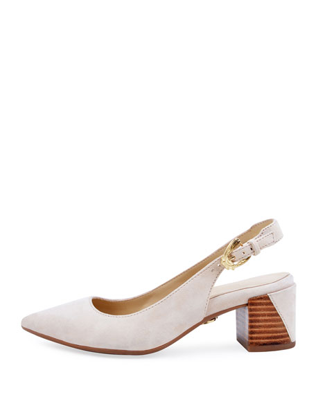 Bettye Muller Concept Flynn Suede Slingback Pumps