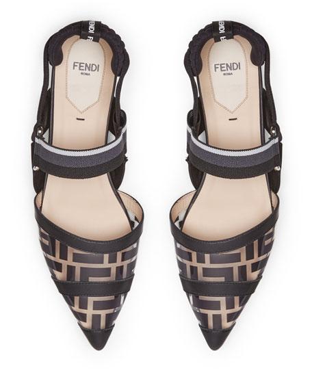 Fendi Colibri PVC FF Skimmers