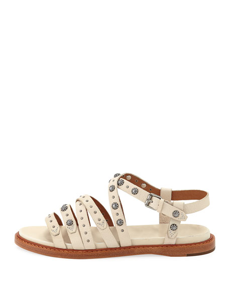 Frye Andora Studded Leather Sandals