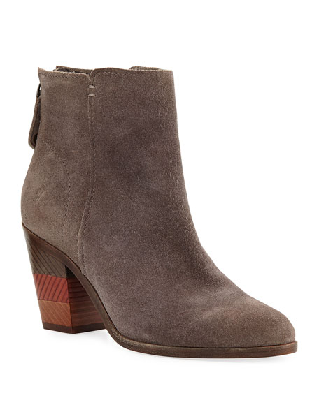 Frye Cameron Suede Ankle Booties