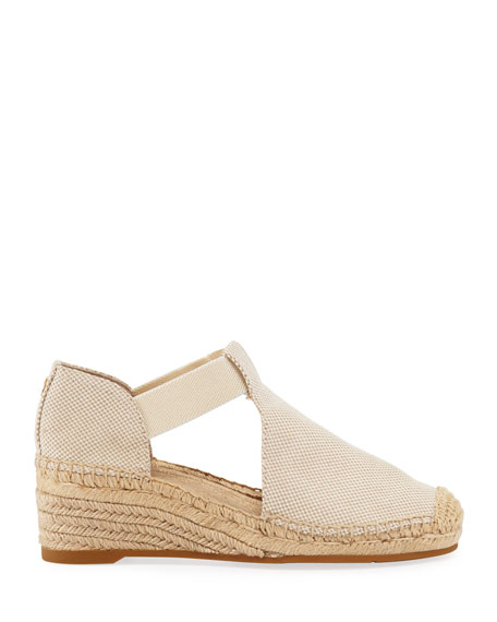 Tory Burch Catalina Woven Wedge Espadrilles