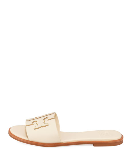 Tory Burch Ines Leather Slide Sandals