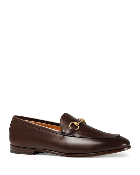 Gucci Leather Bit Loafers