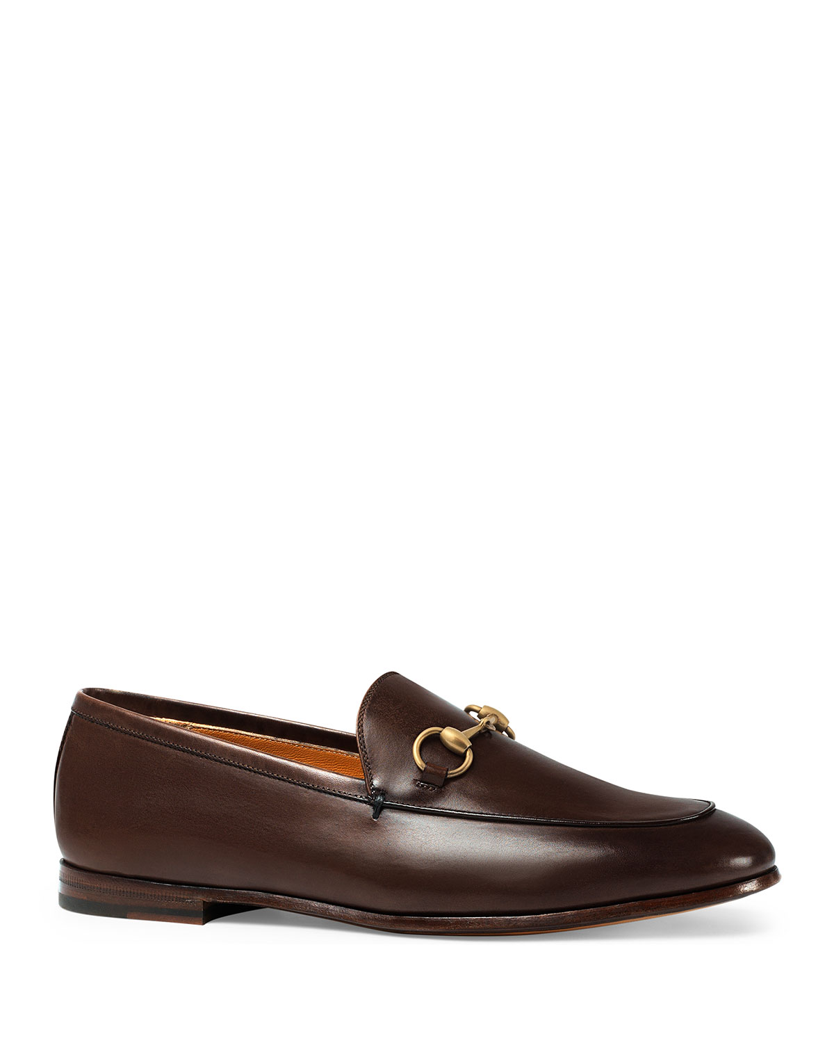 Gucci Leather Bit Loafers | Neiman Marcus
