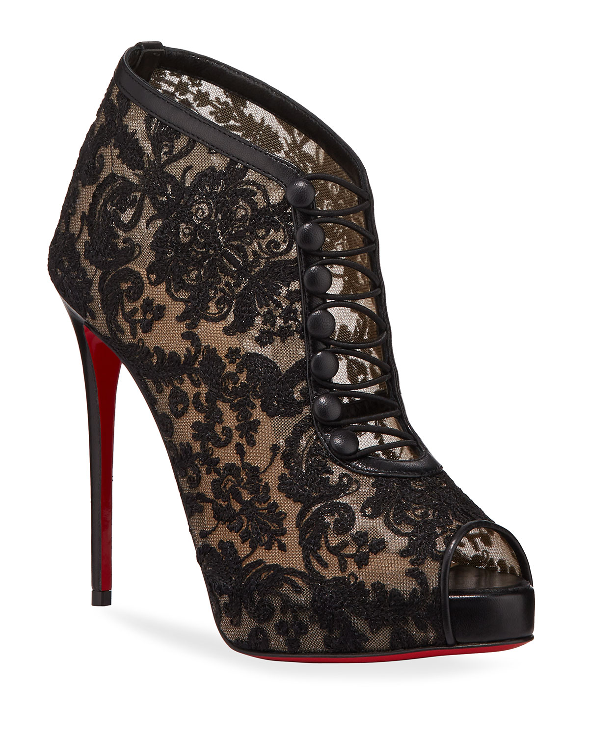 Christian Louboutin Top Top Red Sole