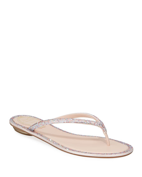 Image 1 of 3: Flat Romantic Mix Thong Sandals
