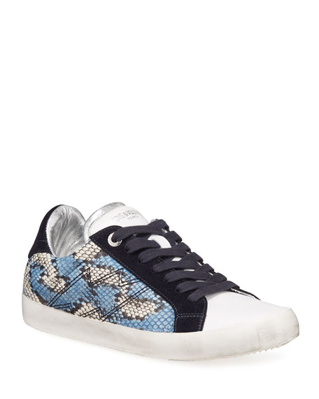 Image 1 of 4: Zadig & Voltaire Used Painted Wild Sneakers