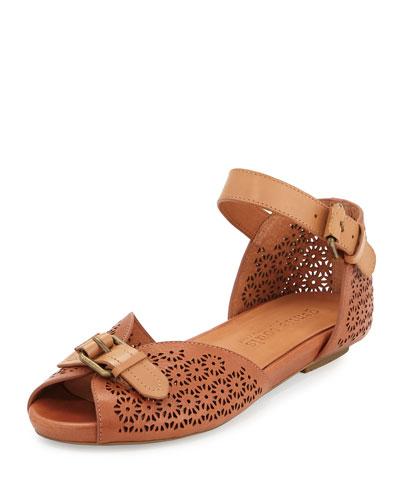 Bessie Laser-Cut Sandals