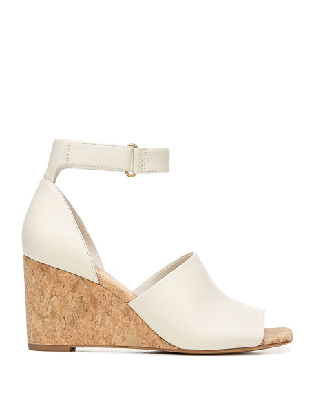 Image 2 of 4: Kensey Wedge Sandals