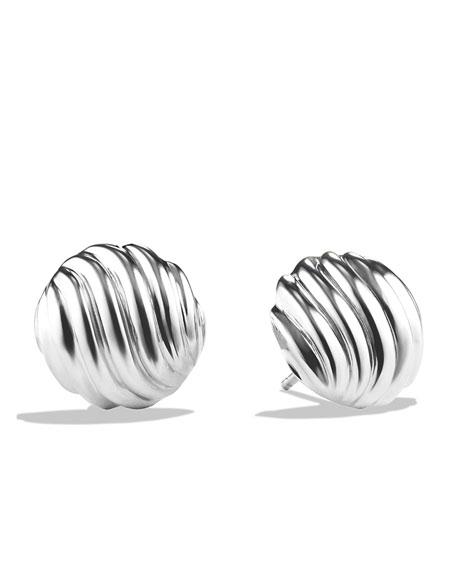 David Yurman 14mm Sculpted Cable Earrings
