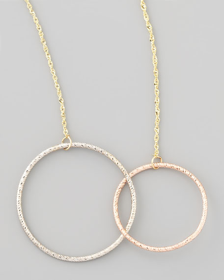 Magnetic Two-Circle Necklace