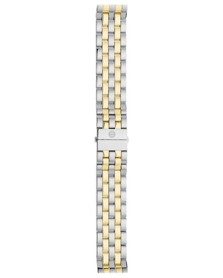 MICHELE Urban Mini Diamond Two-Tone Watch