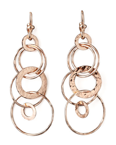 Ippolita Rose Multi-Link Jet-Set Earrings, Mini