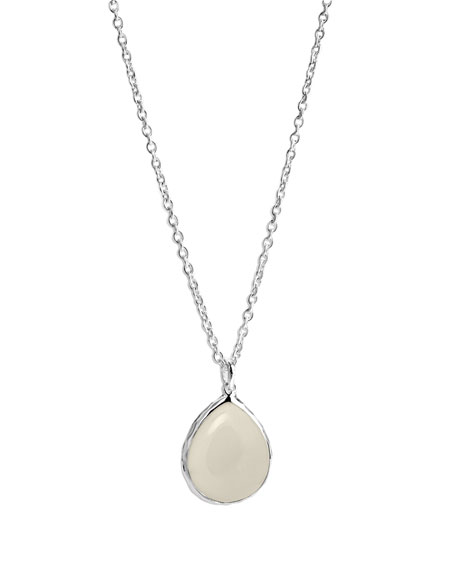Mother-of-Pearl Pendant Necklace