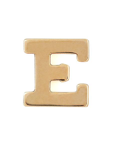Zoe Chicco 14k Gold Single Initial Earring