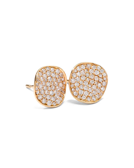 Ippolita Stardust Diamond Stud Earrings