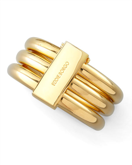 Gold Plate Bangles, Set of 3