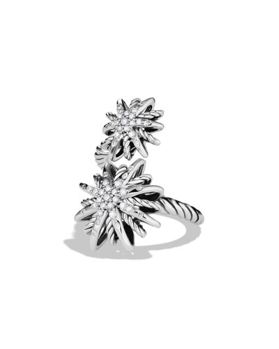 David Yurman Starburst Open Ring with Diamonds