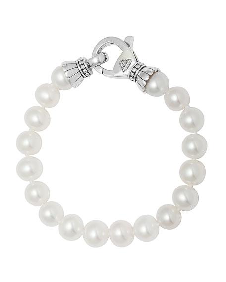 Luna Single-Strand Pearl Bracelet