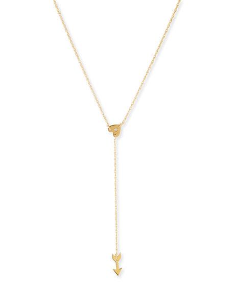 Katia Heart & Arrow Necklace with Diamond