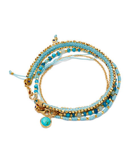 Cool, Calm and Collected Bracelet Stack