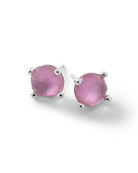 Silver Wonderland Mini Stud Earrings