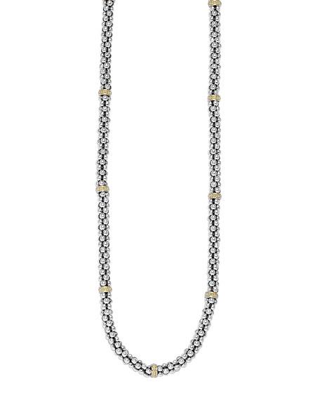Caviar-Rope Necklace