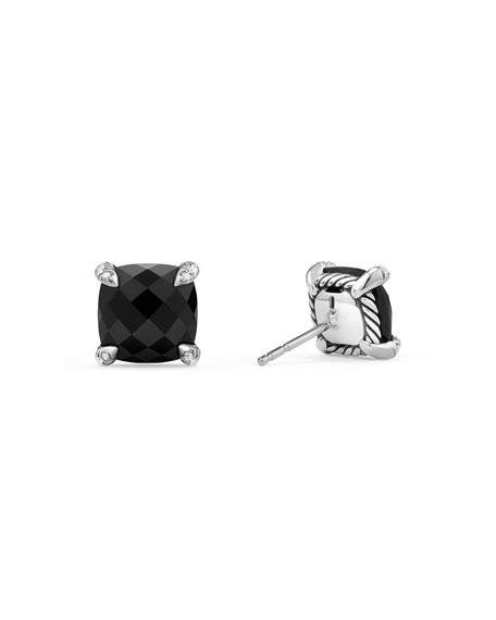 9mm Châtelaine Amethyst Stud Earrings