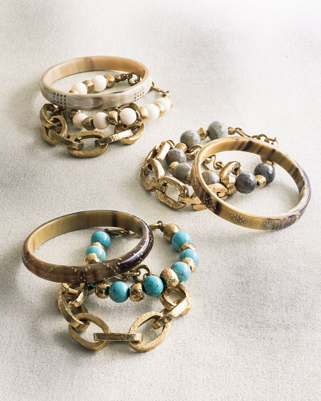 Three-Piece Bangle/Bracelet Set