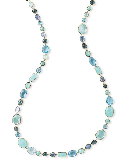 Ippolita Sophia 18K Necklace in Waterfall, 39.5