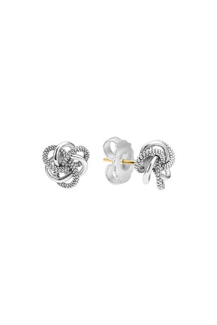 Lagos Sterling Silver Love Knot Earrings