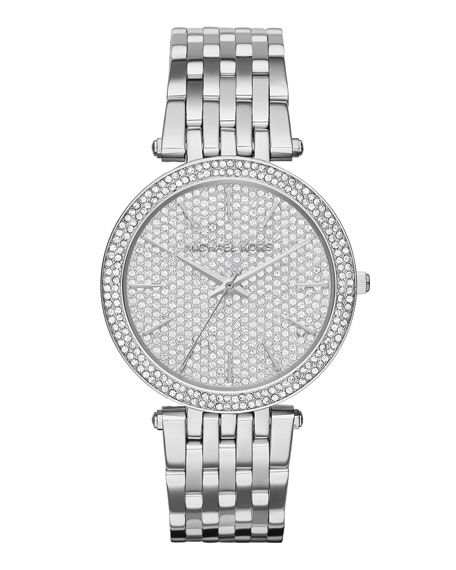 Darci 42mm Pavé Crystal Watch
