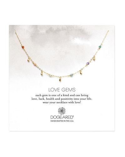 Love Gems Beaded Necklace