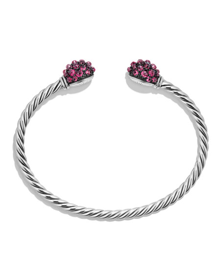 Osetra Faceted Garnet Bracelet