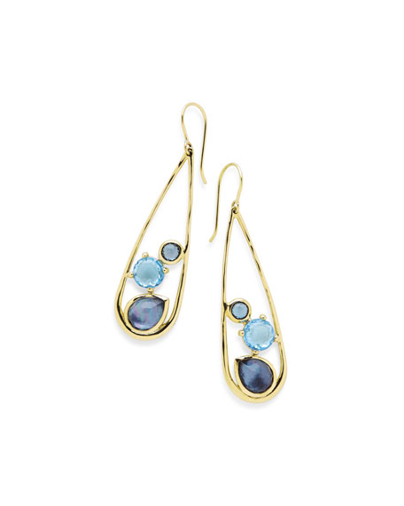 Ippolita 18K Rock Candy Drop Dangle Earrings in