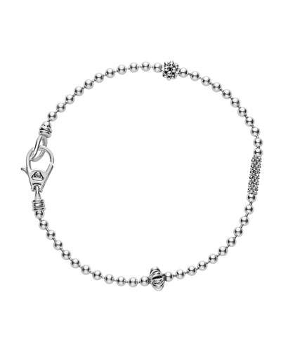 2.5mm Icon Sterling Silver Ball Chain Bracelet