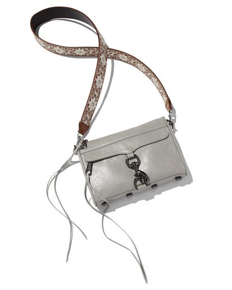 Embroidered Guitar Strap for Handbag