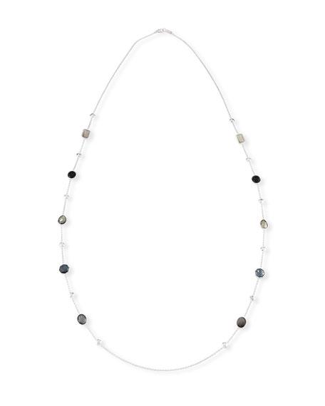 "Ippolita 925 Rock Candy® Medium-Station Necklace in Black Tie, 42""L"
