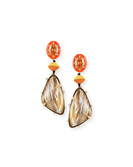 Lucite® Statement Drop Earrings