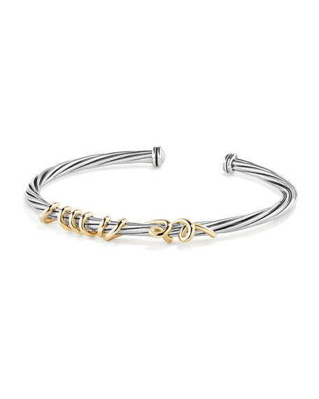 Te Amo Wire Message Bracelet