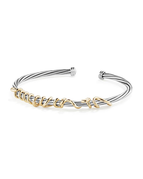 Je T'aime Wire Message Bracelet