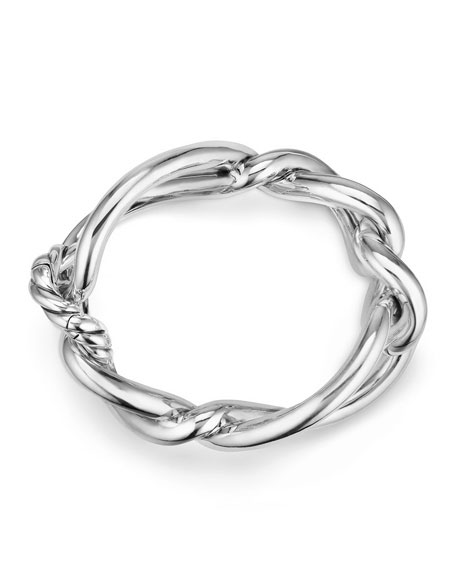 Continuance Bold Twisted Sterling Silver Bracelet