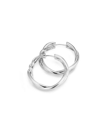 David Yurman 30mm Continuance Hoop Earrings