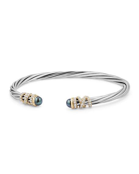David Yurman 4mm Helena Cabochon Tip Bracelet with