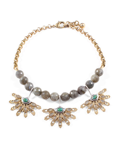 Marjorelle Beaded Necklace