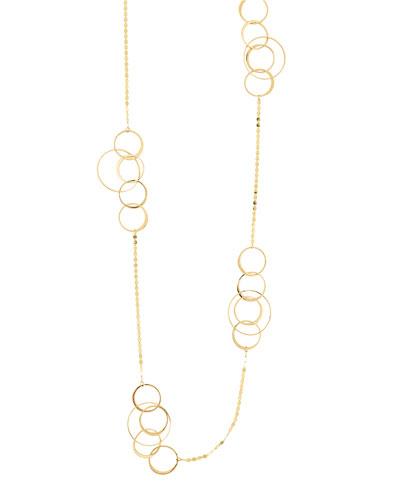 Bond 14K Long Link Necklace, 36